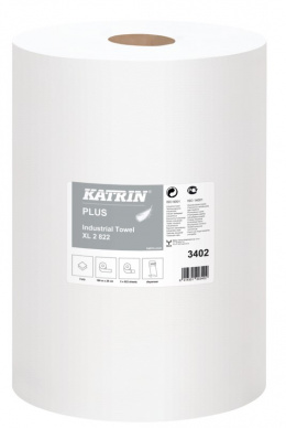 Katrin Plus Industrial Towel XL 2 rolki 189 3402