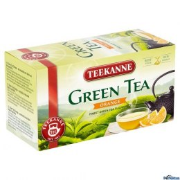 Herbata TEEKANNE GREEN TEA ORANGE 20t zielona